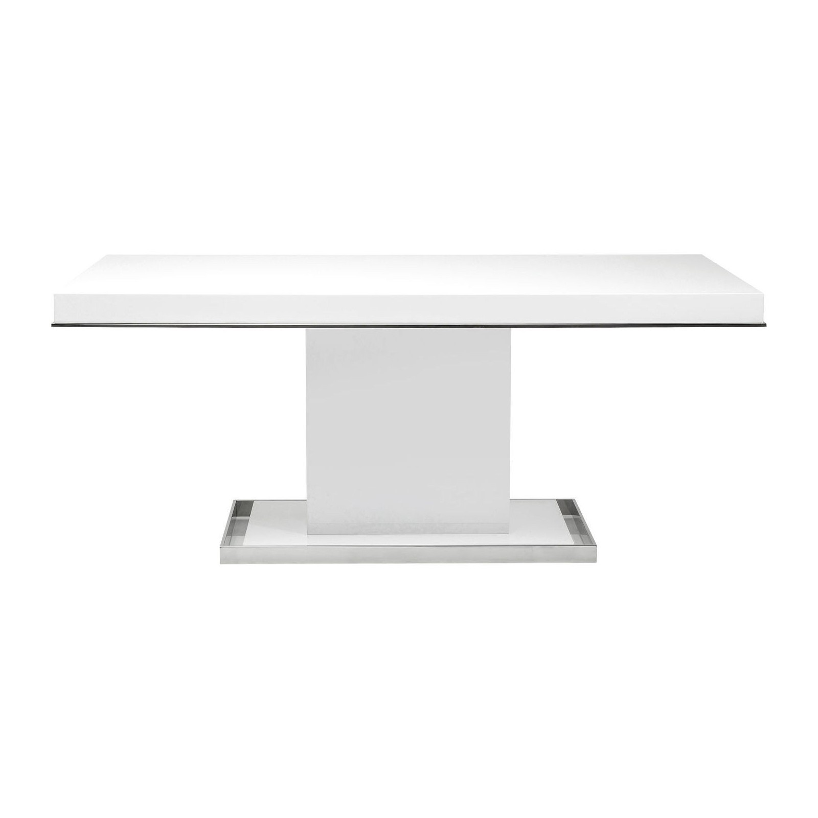 Table design blanche vanity kare for Table design blanche