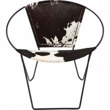 Fauteuil Rond Bucket Cow Kare Design