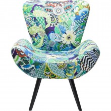 Fauteuil Chaise Wings Madagaskar Kare Design