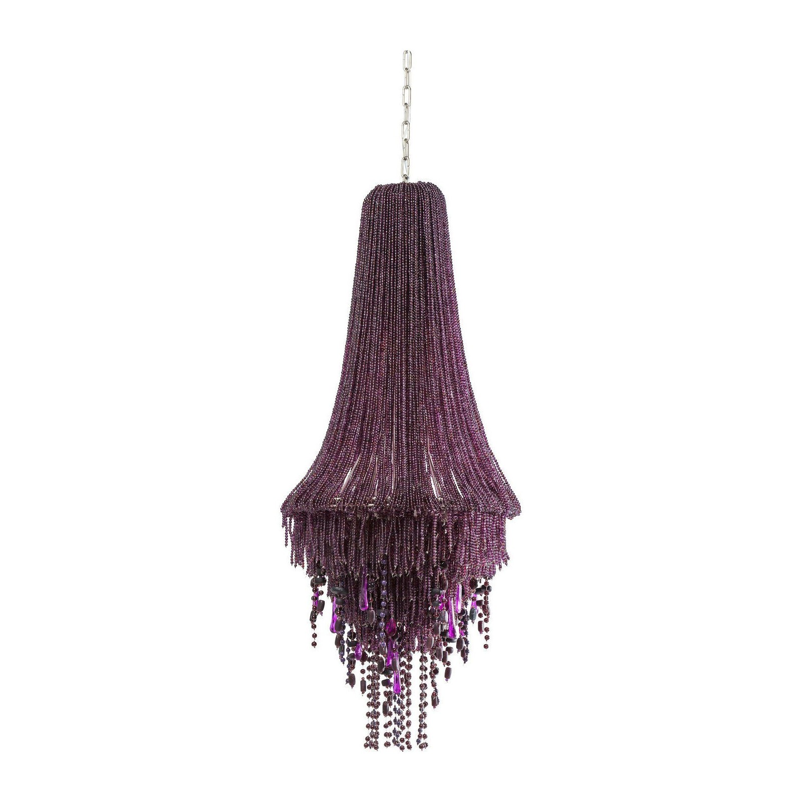 Suspension Design Violette Lila Medusa Luminaires