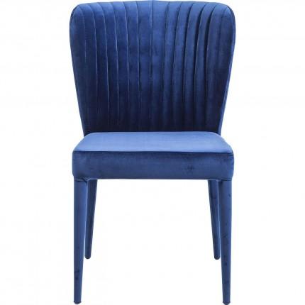 Chaise Cosmos bleue Kare Design