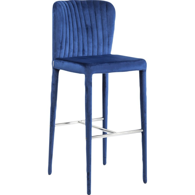 tabouret de bar r tro bleu cosmos kare design. Black Bedroom Furniture Sets. Home Design Ideas