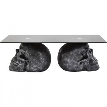 Table basse Skull Rockstar by Geiss 120x60cm Kare Design