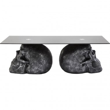 Table basse Skull Rockstar by Geiss 120x60 cm Kare Design