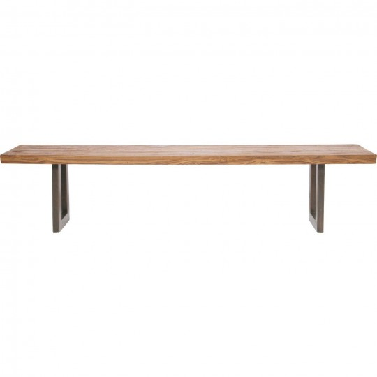Banc en bois Factory Wood 160 cm Kare Design