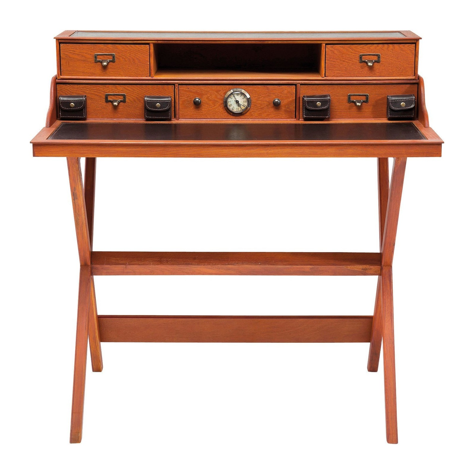 Bureau secretaire colonial kare design for Meuble bureau secretaire