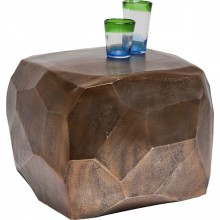 Table Basse Diamond Cuivre 56x56 cm Kare Design