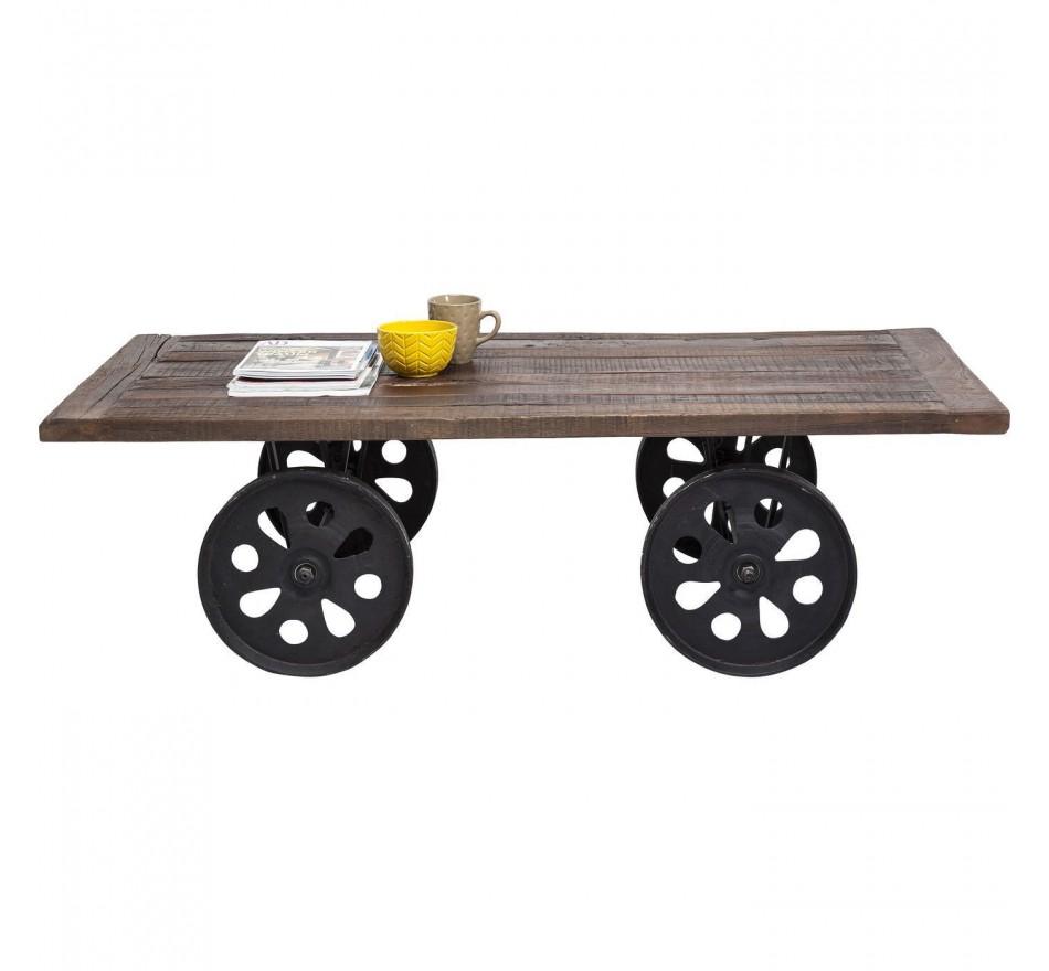 Table Basse à roulettes Manor House 160x76 cm Kare Design