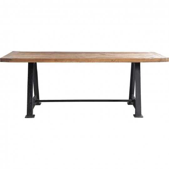 Table Industrielle Bois Railway Kare Design