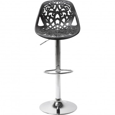 Tabouret De Bar Contemporain Noir - Ornament - Kare Design