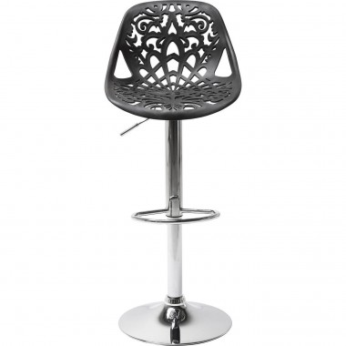Tabouret de bar Ornament noir Kare Design