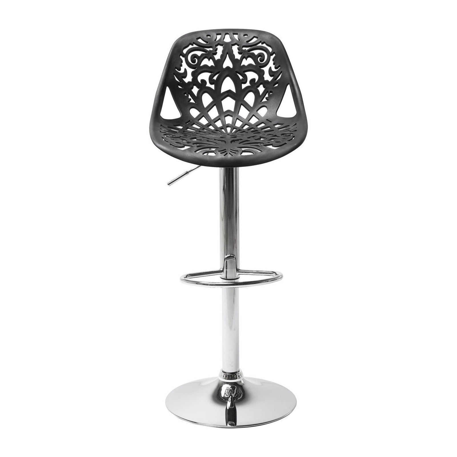 Tabouret de bar ornament noir kare design - Tabouret de bar confortable ...