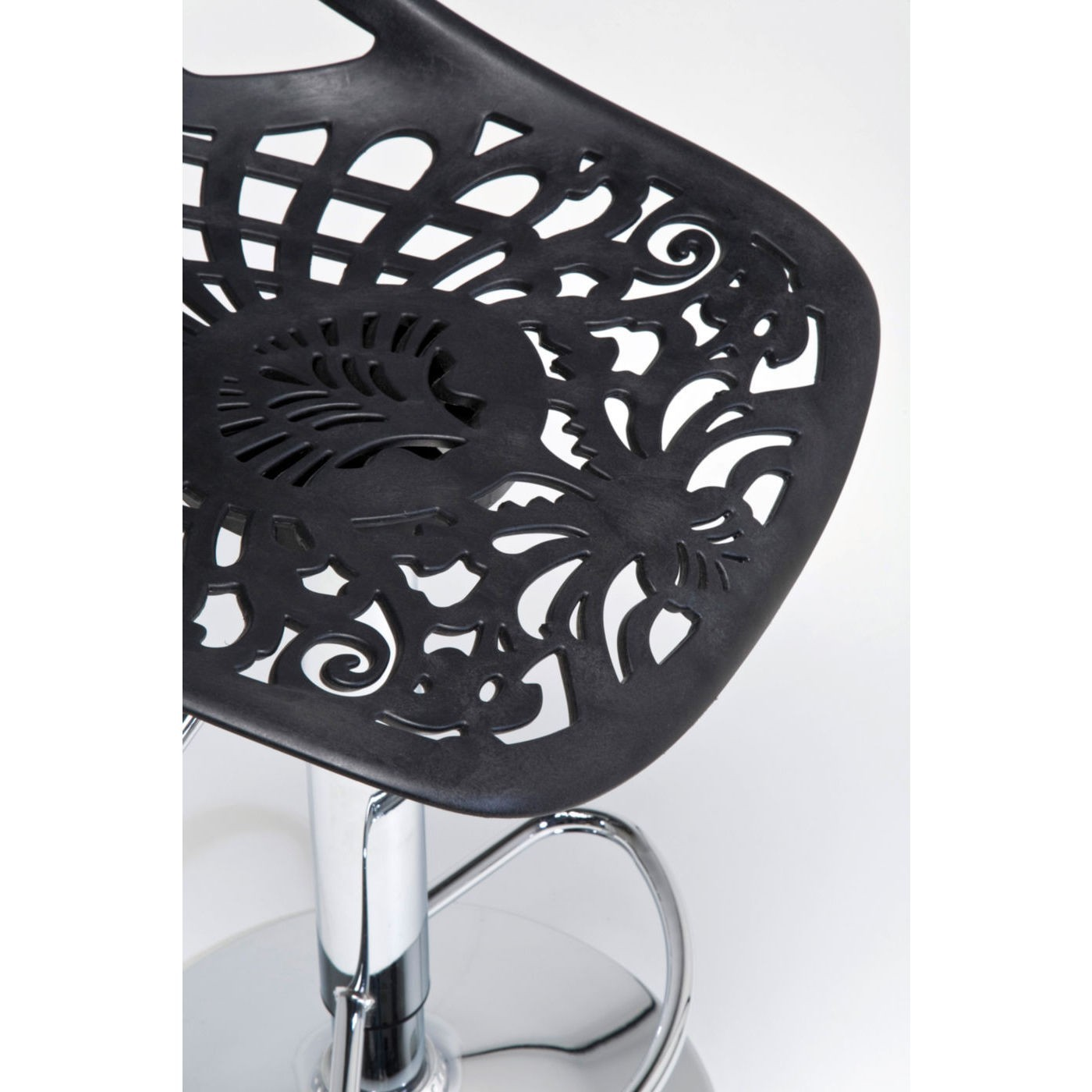 Tabouret de bar Ornament noir Kare Design