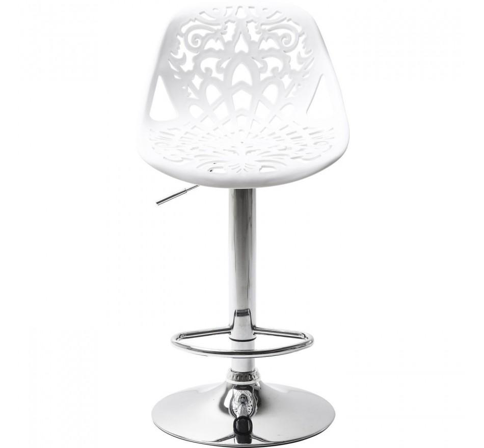 Tabouret de Bar Ornament blanc Kare Design
