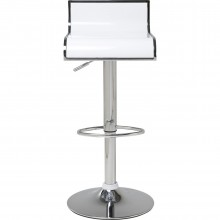Tabouret de Bar Coffee Shop blanc Kare Design