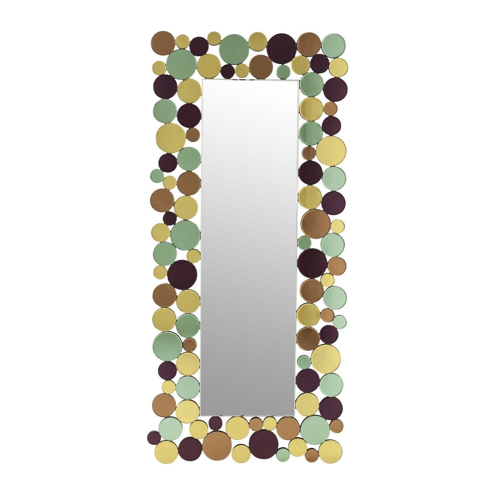 Miroir design poser circle crest d co tendance kare for Decoration miroir design