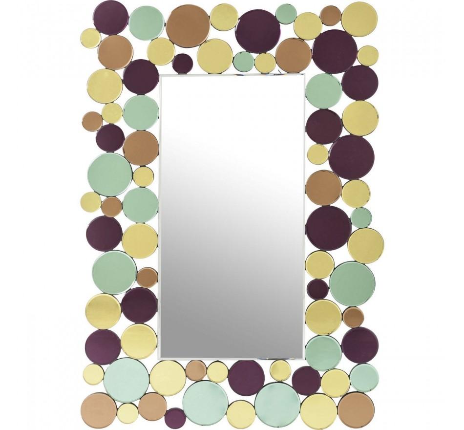 Miroir Circle Crest 120x80cm Kare Design
