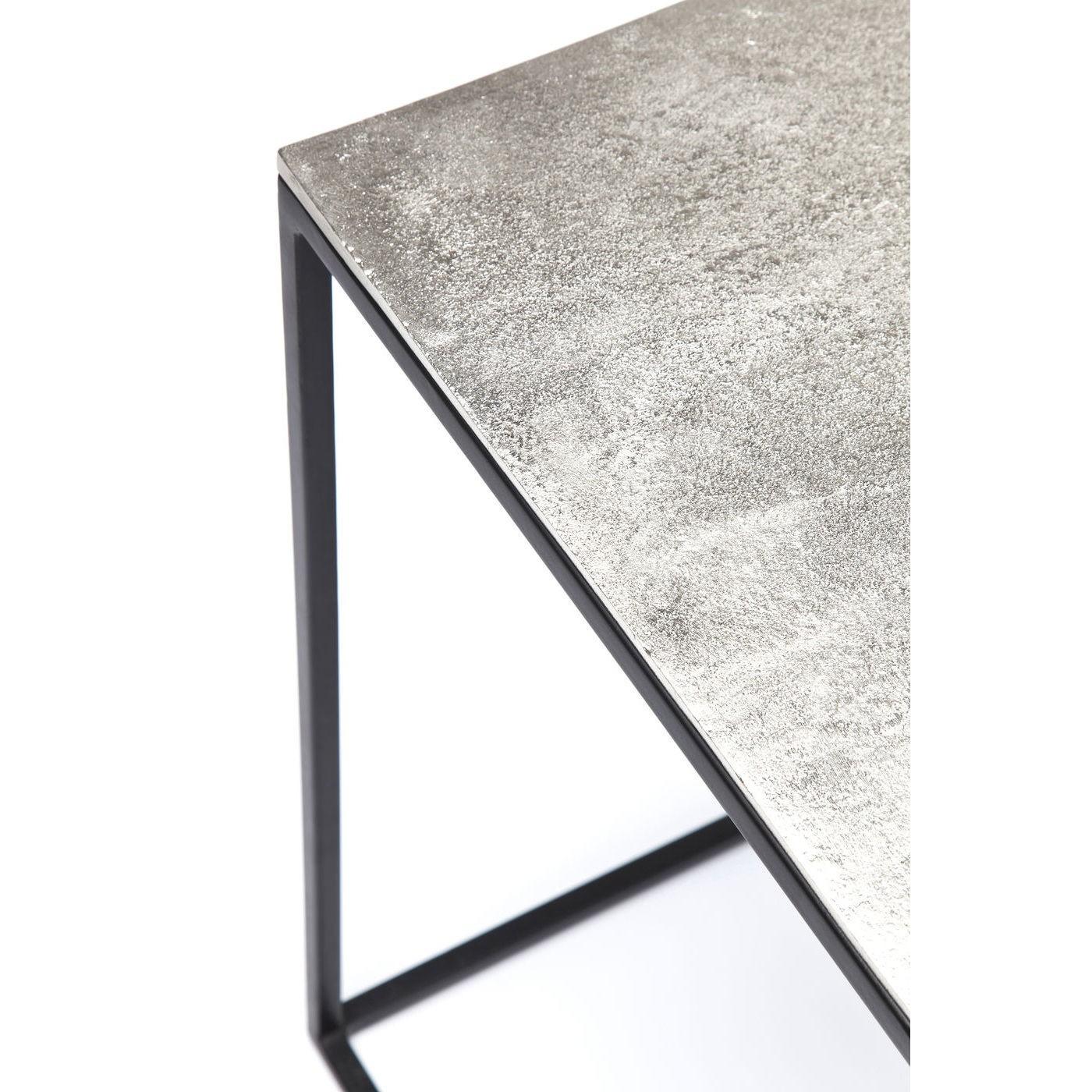 Tables d'appoint loft Square Vintage set de 3 Kare Design