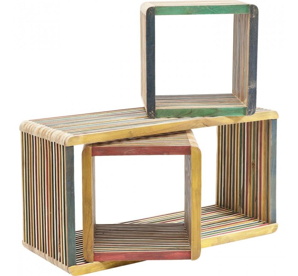Cubes Micado 3/set Kare Design