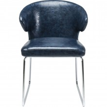 Chaise Atomic bleue Kare Design