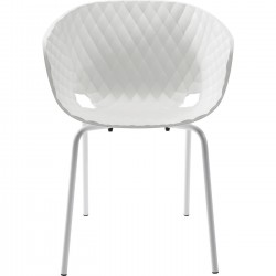 Fauteuil Radar Bubble blanc Kare Design