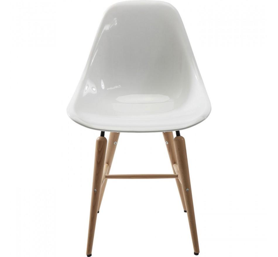 Chaise Retro Forum Blanche Kare Design