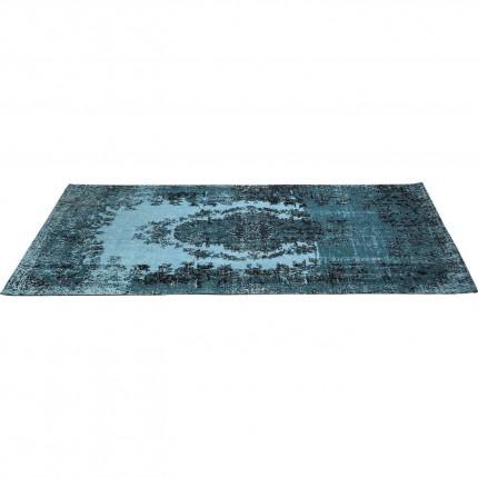 Tapis en coton Kelim Pop turquoise 200x300cm Kare Design