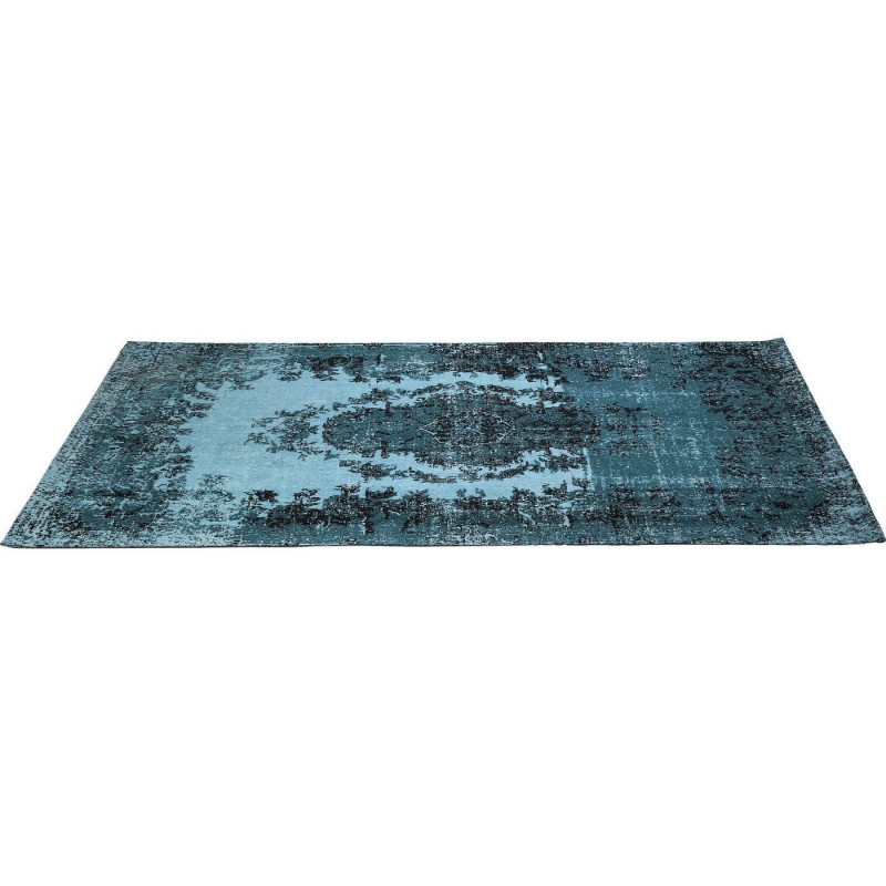 tapis vintage kelim pop turquoise 240x170 kare design. Black Bedroom Furniture Sets. Home Design Ideas