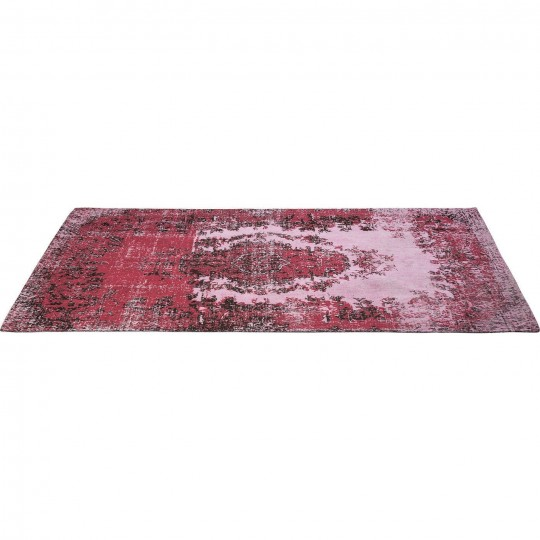 Tapis Vintage Kelim Pop rose 240x170 Kare Design