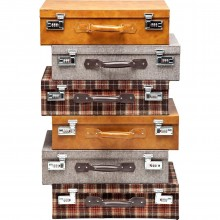 Commode Highlands Suitcase 6 Tiroirs