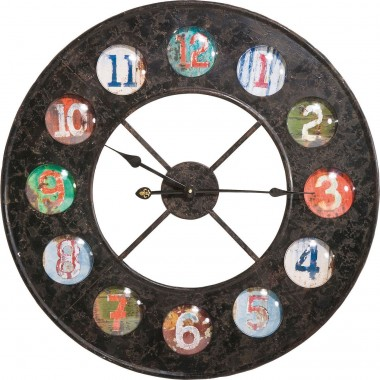 Horloge Vintage Colour 70 Kare Design