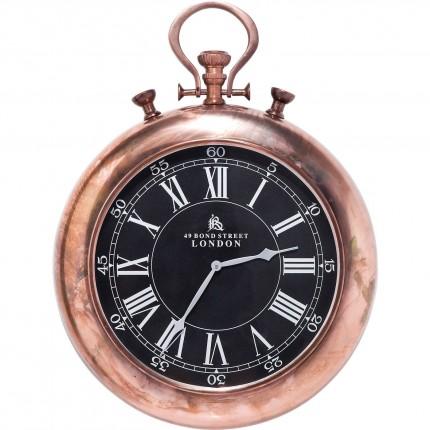 Horloge Pocket cuivre Kare Design