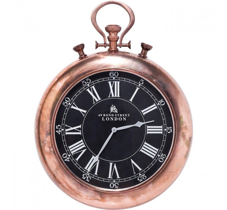 Horloge Pocket Copper Kare Design