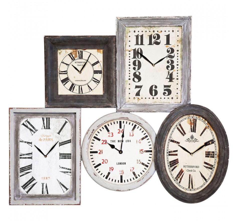 Horloge Vintage Multi Kare Design