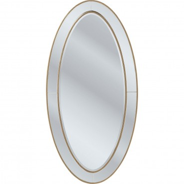 Miroir elite ovale 180x90 cm kare design for Miroir 180x90