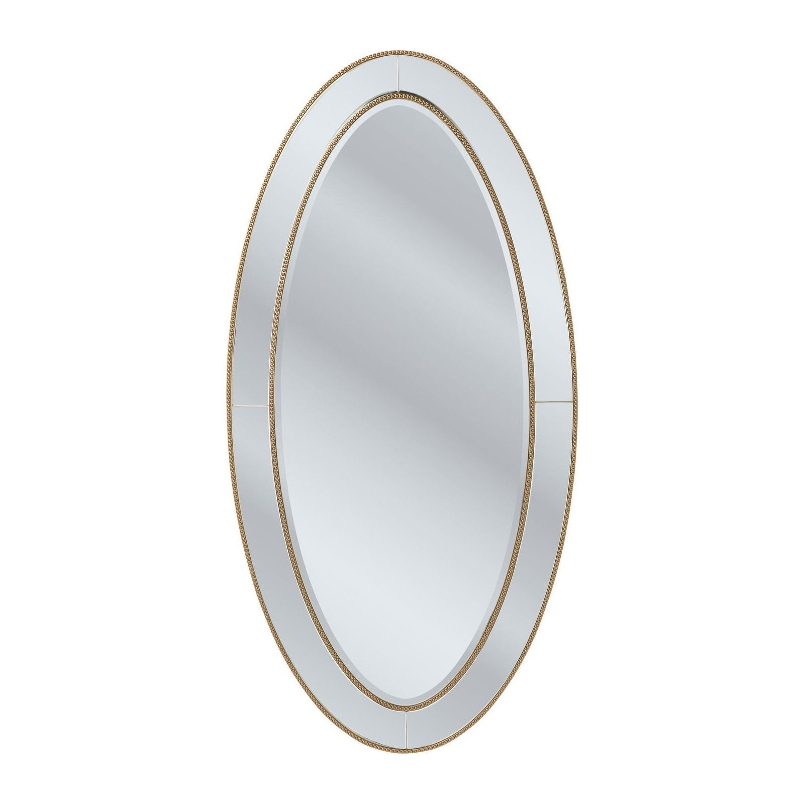 Miroir elite ovale 180x90 cm kare design for Miroir 90 x 170