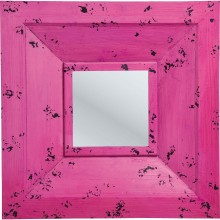 Miroir Camera 72x72cm Rose Kare Design