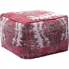 Pouf Kelim Pop rose Kare Design