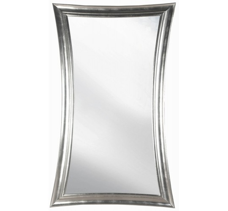 miroir moderne argent venus kare design