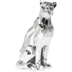 Déco Sitting Cat Rivet chrome Kare Design