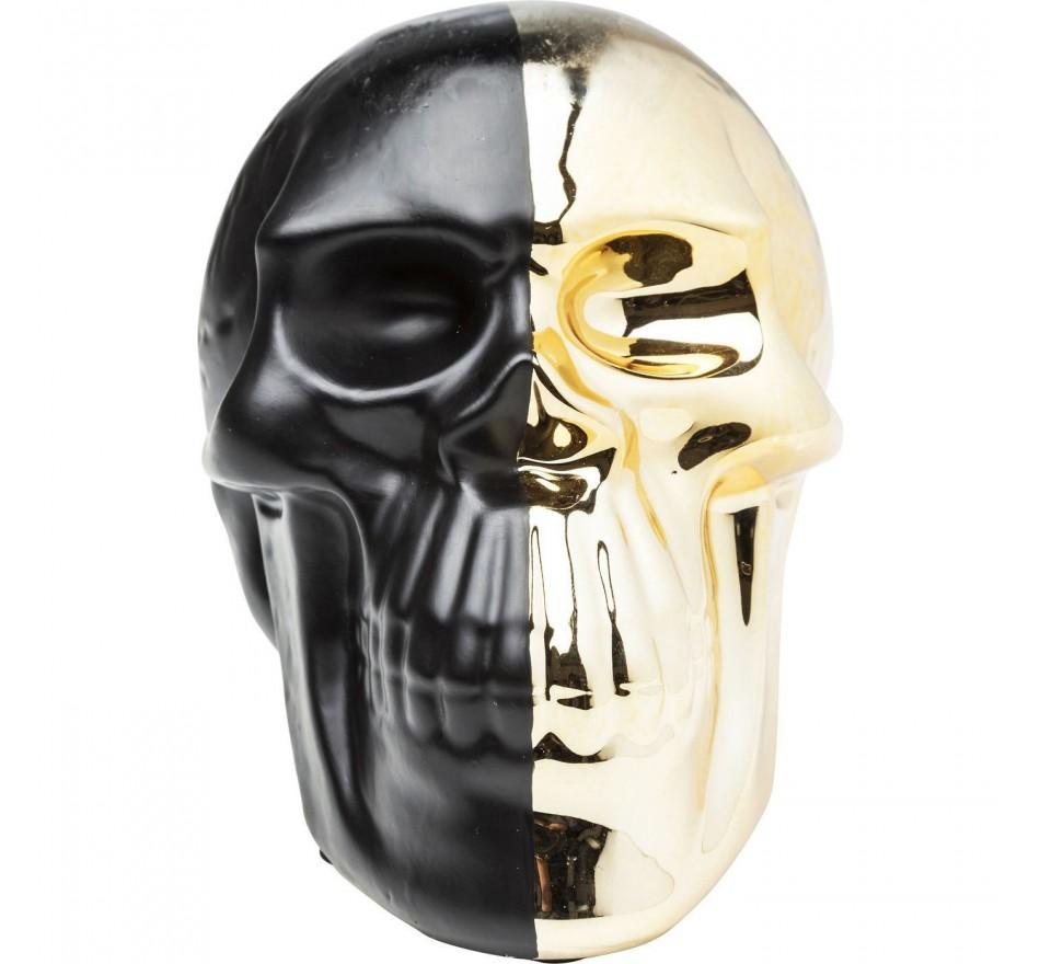 Tirelire Skull dorée Kare Design