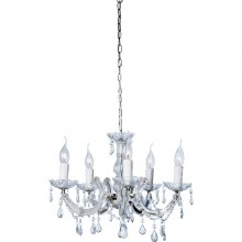 Lustre Barock Transparent 5 Kare Design