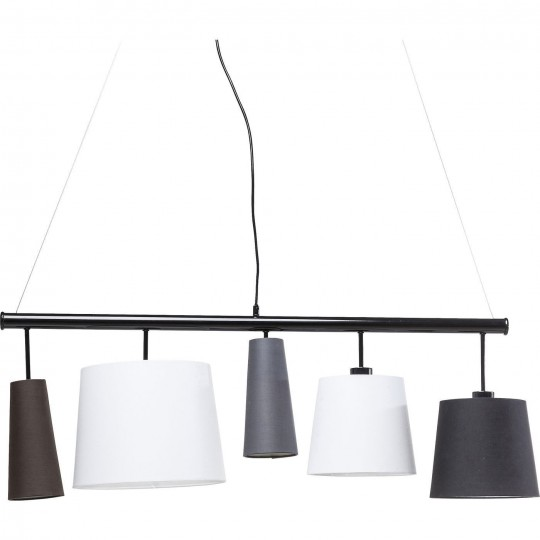 Suspension Parecchi noire 100cm Kare Design
