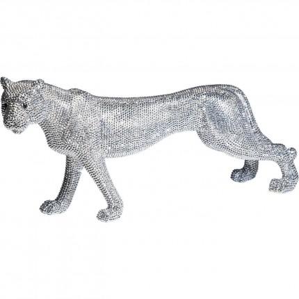 Deco Leopard Glitter 29cm Kare Design