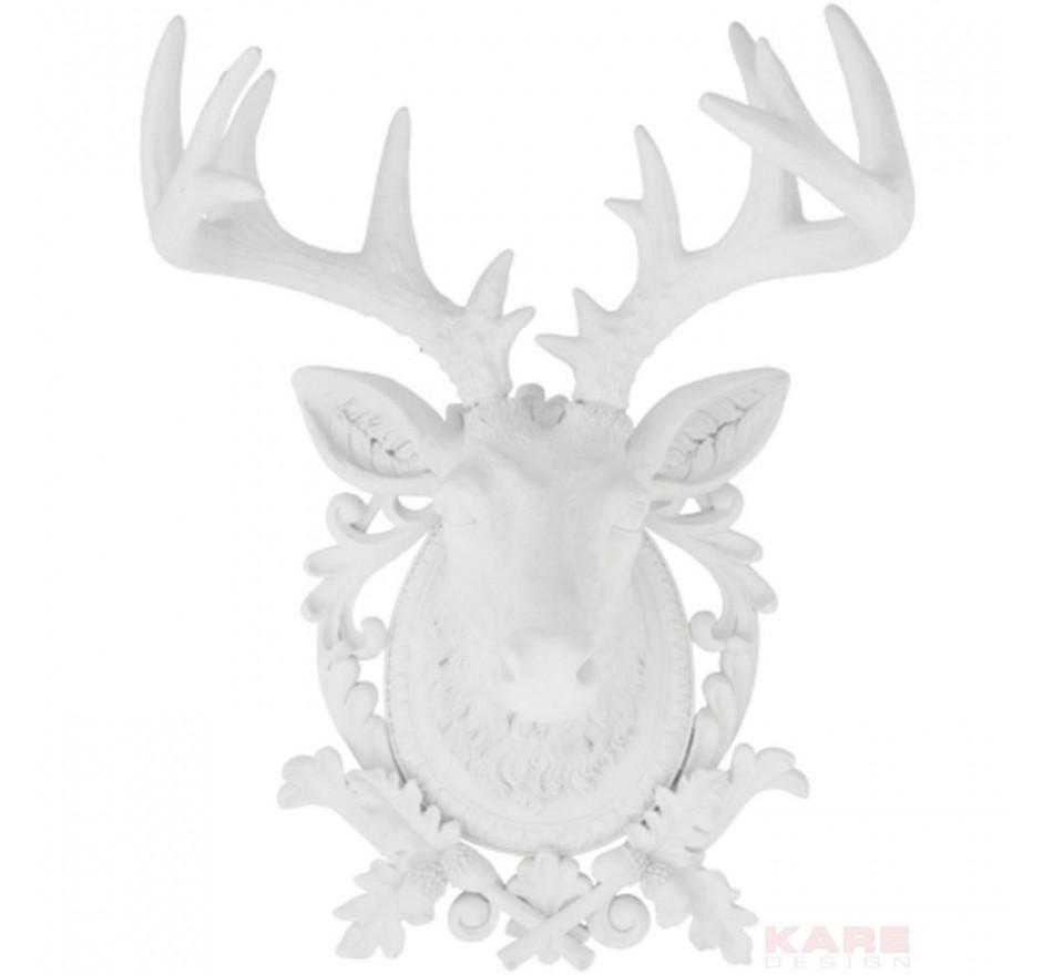 Tête Cerf Medaillon Kare Design