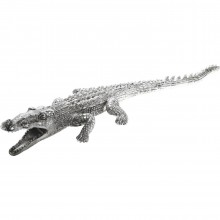 Deco Crocodile Argent Kare Design