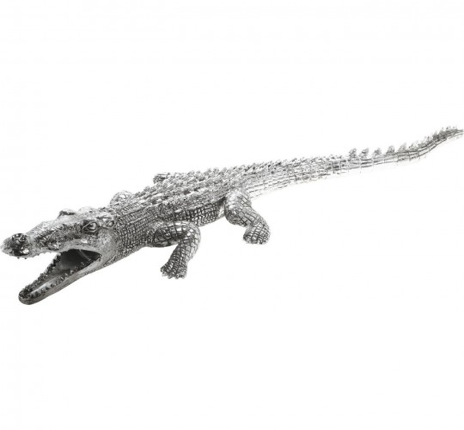 Deco Crocodile Argent Kare Design