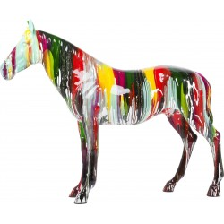 Déco cheval multicolore XXL Kare Design