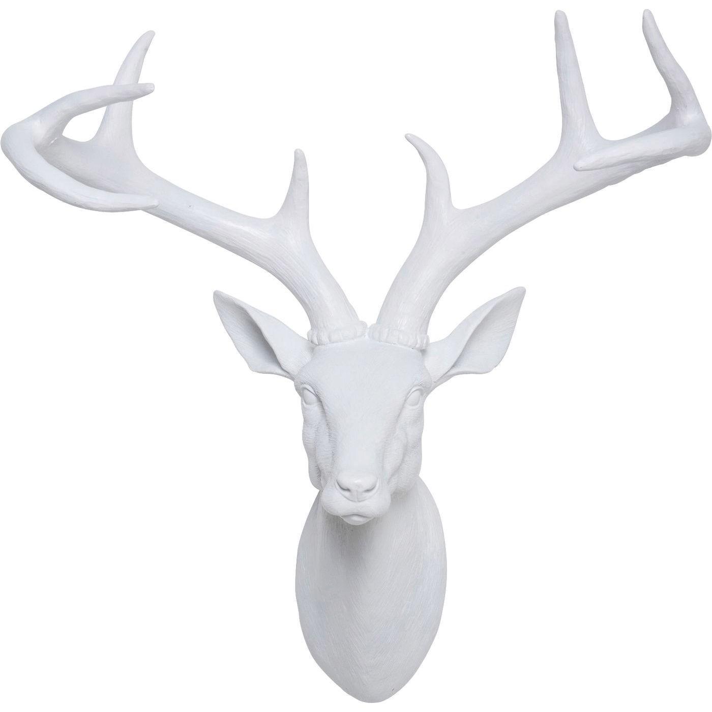 Tête Cerf blanc Kare Design