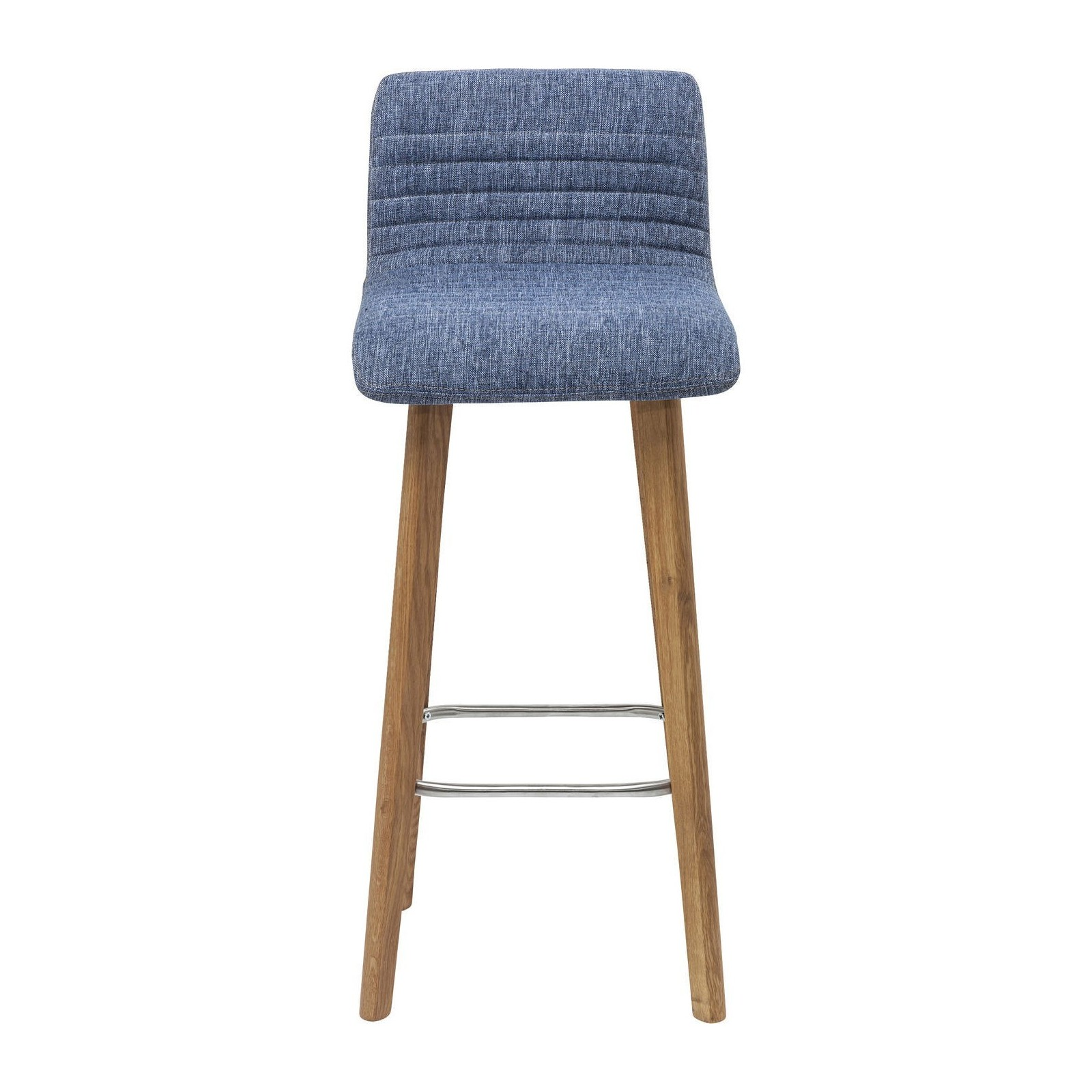 tabouret de bar scandinave bleu lara kare design. Black Bedroom Furniture Sets. Home Design Ideas